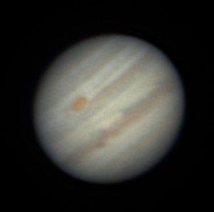 Jupiter, aufgenommen am 26. 5. 2018 in Großmugl. © Niki Nekuda